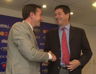 Jesús García Pitarch fue presentado como nuevo director deportivo en septiembre de 2002, en sustitución de Javier Subirats