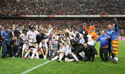 El Valencia se proclamó Campeón de Copa por séptima vez en su historia