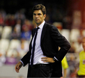 Mauricio Pellegrino fue la apuesta de Manuel Llorente para el banquillo valencianista, pero no finalizó la temporada