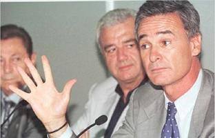 Roig, que dimitió en diciembre, en la presentación de Claudio Ranieri